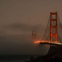 міст в тумані