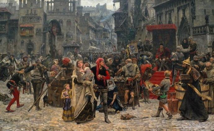 торгові міста Франції і Італії